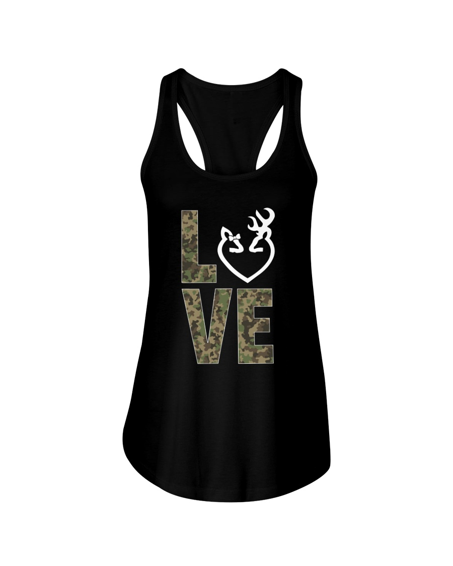 Hunting Love Hunting  Ladies Flowy Tank
