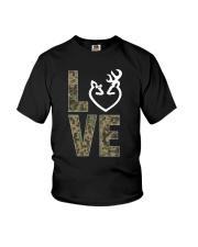 Hunting Love Hunting  Youth T-Shirt thumbnail