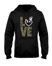 Hunting Love Hunting  Hooded Sweatshirt thumbnail