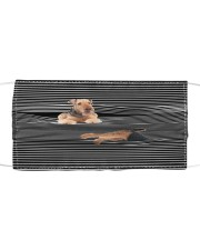 Airedale Terrier Striped T821 Cloth face mask front
