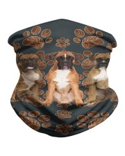Boxer Floral Paw H25835 Neck Gaiter tile