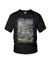 Family To My Son-in-law - Part Of Us Youth T-Shirt thumbnail
