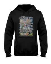 Family To My Son-in-law - Part Of Us Hooded Sweatshirt thumbnail