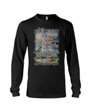 Family To My Son-in-law - Part Of Us Long Sleeve Tee tile