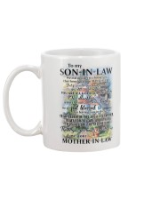 Family To My Son-in-law - Part Of Us Mug back