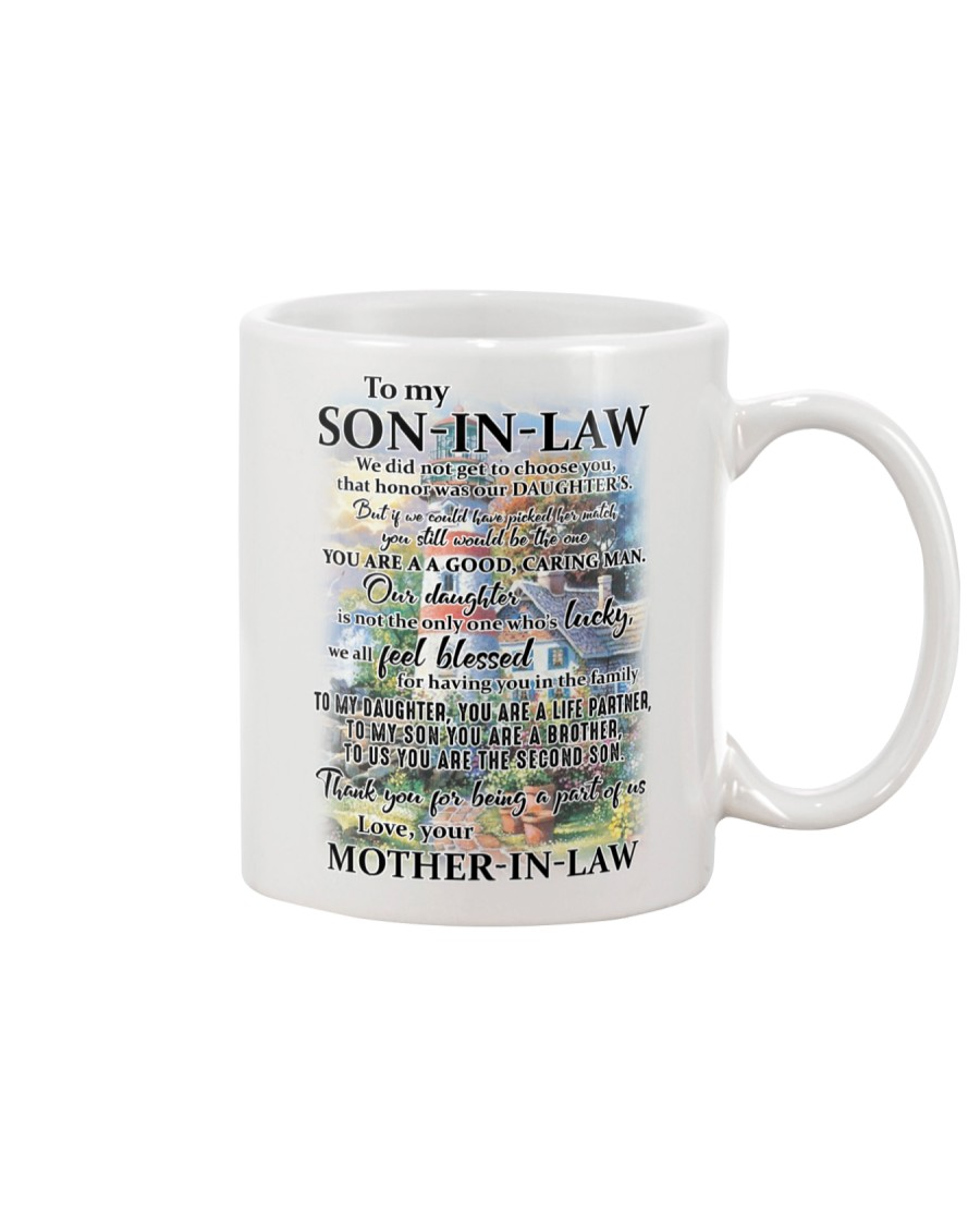 Family To My Son-in-law - Part Of Us Mug