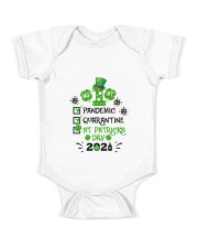 My 1st St Patrick's Day TY2502218 Baby Onesie front
