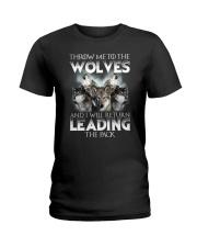 NYX - Wolves Leading - 0303 Ladies T-Shirt thumbnail