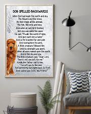 Cocker Spaniel Backwards 11x17 Poster lifestyle-poster-1