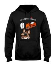 Shiba Inu Anti Hooded Sweatshirt thumbnail