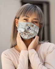 Awesome Akita G82721 Cloth face mask aos-face-mask-lifestyle-17