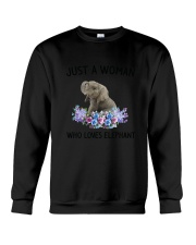 NYX - Woman Elephant - 1304 Crewneck Sweatshirt thumbnail