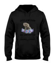 NYX - Woman Elephant - 1304 Hooded Sweatshirt thumbnail