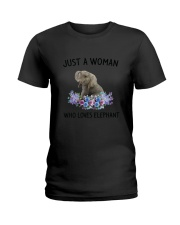 NYX - Woman Elephant - 1304 Ladies T-Shirt thumbnail