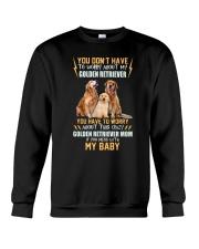 NYX - My Baby Golden Retriever - 1104 Crewneck Sweatshirt thumbnail