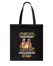 NYX - My Baby Golden Retriever - 1104 Tote Bag thumbnail