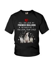 NYX - My French Bulldog - 0904 Youth T-Shirt thumbnail