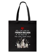 NYX - My French Bulldog - 0904 Tote Bag thumbnail