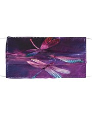 Purple Dragonfly G82779 Cloth face mask front