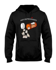 Alaskan Malamute Anti Hooded Sweatshirt thumbnail