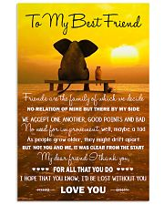 Family - To My Best Friend 11x17 Poster front