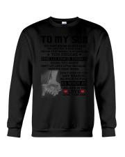 Family - To My Son I Believe Crewneck Sweatshirt thumbnail
