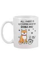 Coffee and Shiba Inu Mug back