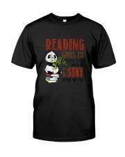 Panda Reading Classic T-Shirt tile