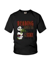 Panda Reading Youth T-Shirt thumbnail