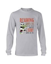 Panda Reading Long Sleeve Tee thumbnail