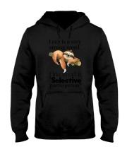Sloth Lazy Hooded Sweatshirt thumbnail