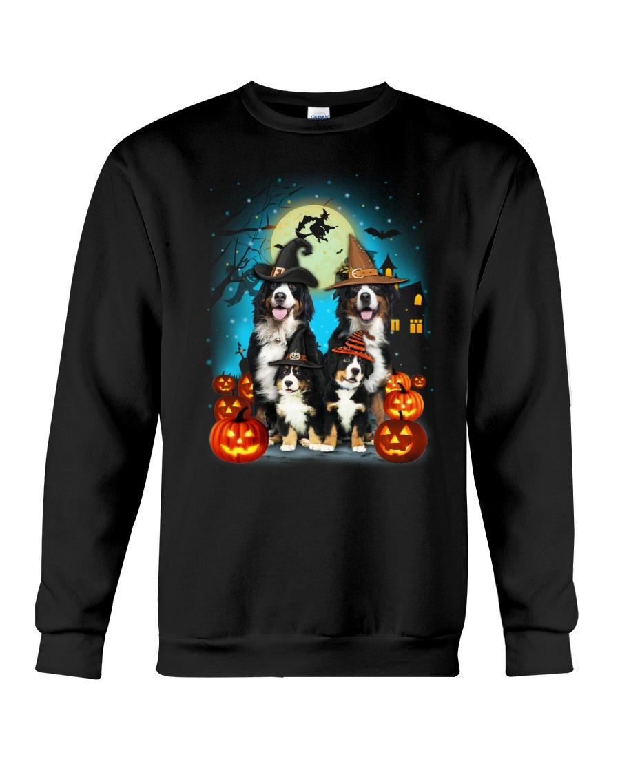 Bernese Mountain Dog Halloween 19 Crewneck Sweatshirt