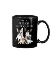 FRENCH BULLDOGAHOLIC Mug thumbnail
