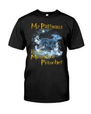 Miniature Pinscher  Patronus Classic T-Shirt front