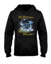 Miniature Pinscher  Patronus Hooded Sweatshirt thumbnail