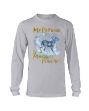 Miniature Pinscher  Patronus Long Sleeve Tee thumbnail