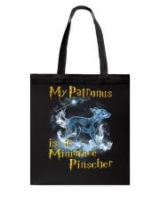 Miniature Pinscher  Patronus Tote Bag thumbnail