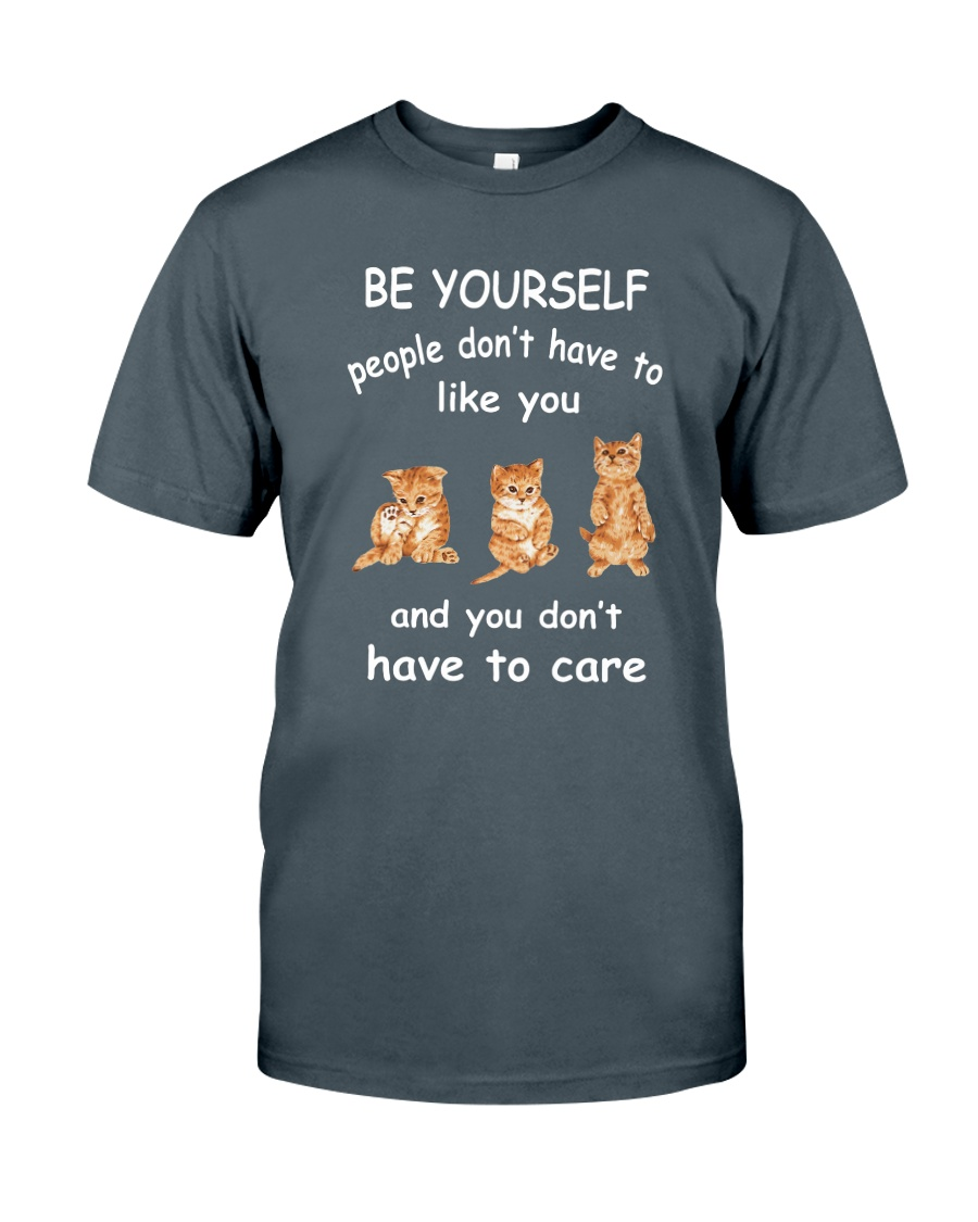 Be Yourself Cat Classic T-Shirt