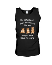 Be Yourself Cat Unisex Tank thumbnail