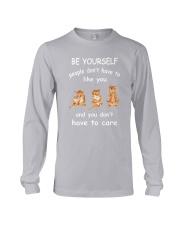 Be Yourself Cat Long Sleeve Tee thumbnail