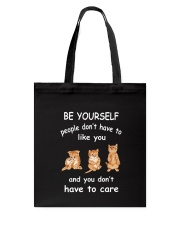 Be Yourself Cat Tote Bag thumbnail