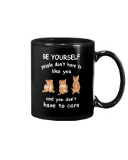 Be Yourself Cat Mug thumbnail