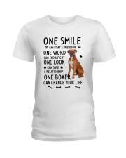 Boxer Change Life Ladies T-Shirt thumbnail