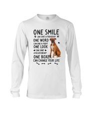 Boxer Change Life Long Sleeve Tee thumbnail