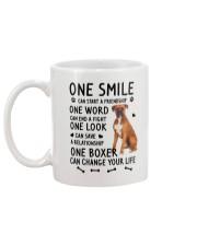 Boxer Change Life Mug back