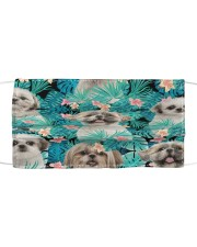 Shih Tzu Tropical H31710 Cloth face mask front