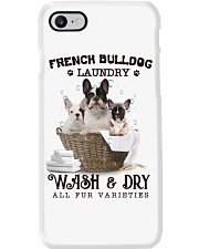 French Bulldog Camp Mau White Phone Case tile