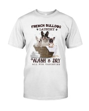 French Bulldog Camp Mau White Classic T-Shirt tile