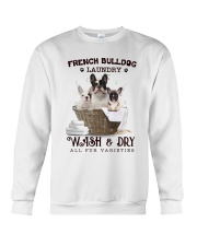 French Bulldog Camp Mau White Crewneck Sweatshirt thumbnail