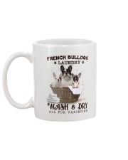 French Bulldog Camp Mau White Mug back